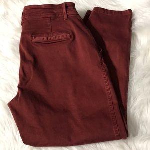 Gap women's pants size 12 hi rise skinny